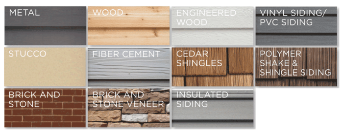 different-siding-options